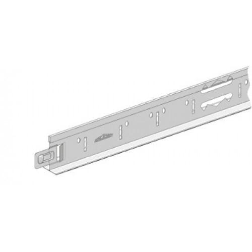 Профіль підвісної стелі поперечний VS білий 24мм 1,2 м