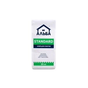 Клей Альба для плитки Standard 5 кг