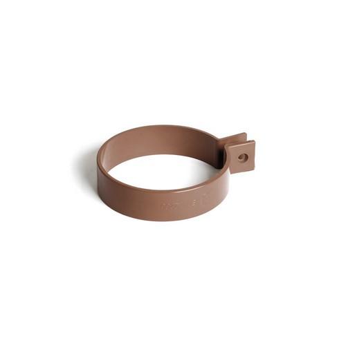 Кронштейн труби BRYZA коричневий  90 мм