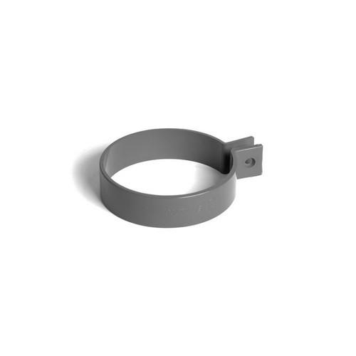 Кронштейн труби BRYZA графіт 90 мм