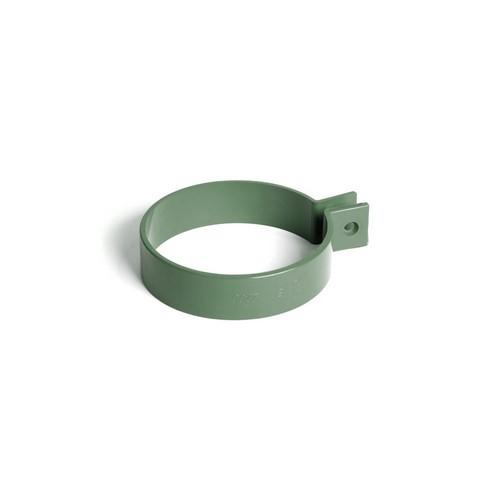 Кронштейн труби BRYZA зелений 90 мм