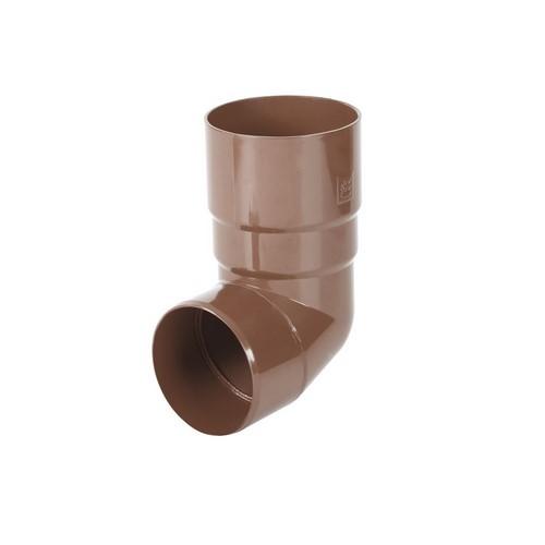 Коліно BRYZA коричневе 90 мм