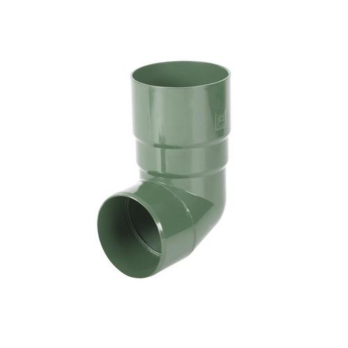 Коліно BRYZA зелене 90 мм