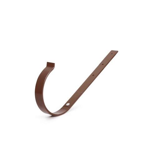 Кронштейн ринви металевий BRYZA прямий коричневий 125 мм