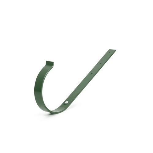 Кронштейн ринви металевий BRYZA прямий зелений 125 мм