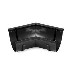 Кут внутрішній BRYZA чорний 125 мм