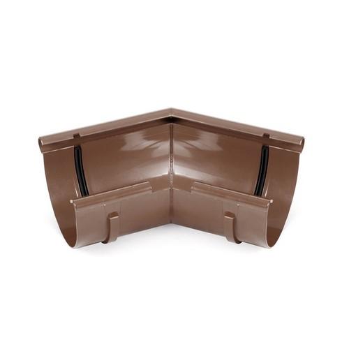 Кут внутрішній BRYZA коричневий 125 мм
