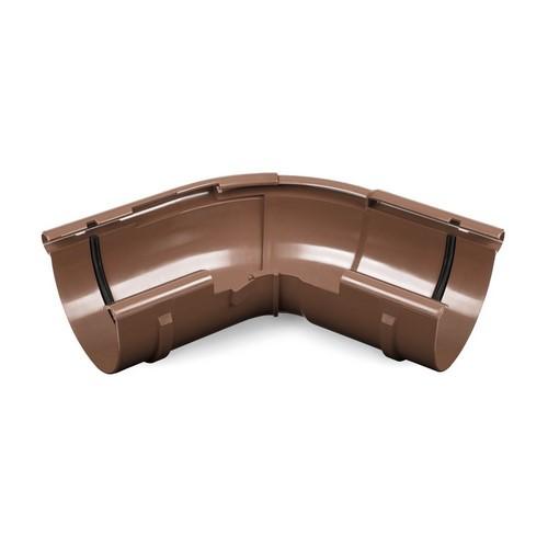 Кут зовнішній регульований BRYZA коричневий 125 мм