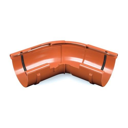 Кут зовнішній регульований BRYZA цегельний 125 мм