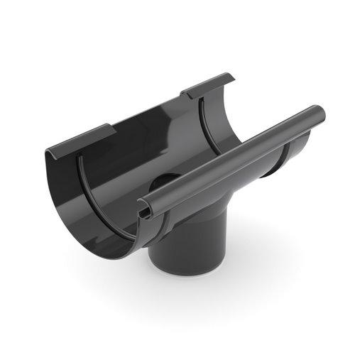 Лійка ринви BRYZA чорна 125 мм 90 мм