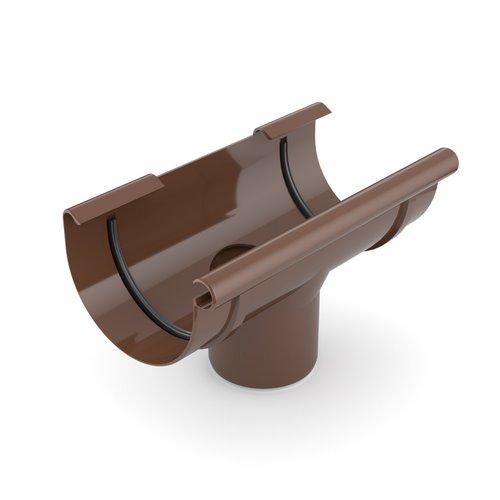 Лійка ринви BRYZA коричнева 125 мм 90 мм