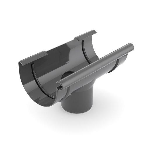 Лійка ринви BRYZA графіт 125 мм 90 мм