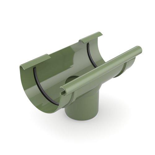 Лійка ринви BRYZA зелена 125 мм 90 мм