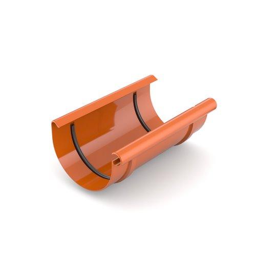 Муфта ринви BRYZA цегельний 125 мм