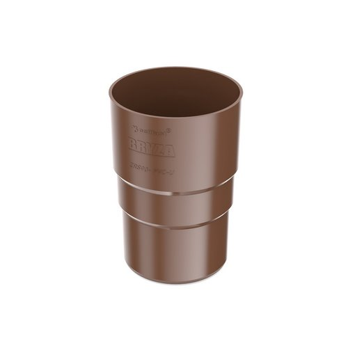 Муфта труби BRYZA коричнева 90 мм