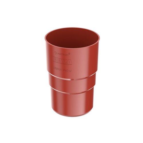 Муфта труби BRYZA червона 90 мм