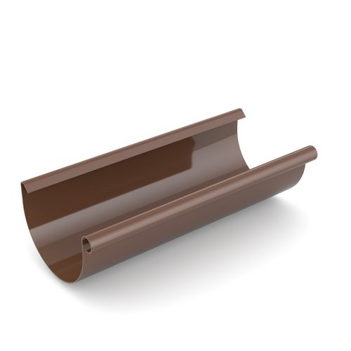Ринва BRYZA коричнева 125 мм 4 м