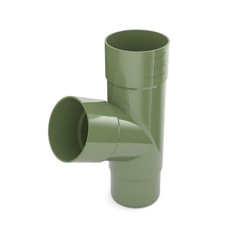 Трійник BRYZA зелений 90/90/90 мм