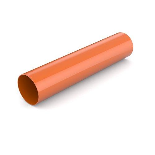 Водостічна труба BRYZA цегельний  90 мм 3 м