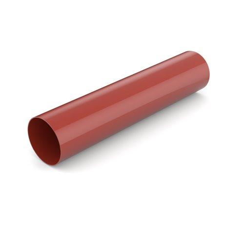 Водостічна труба BRYZA червона 90 мм 3 м