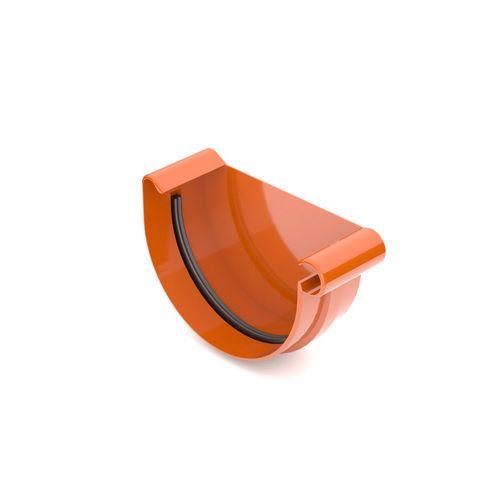 Заглушка ринви права BRYZA цегельний 125 мм