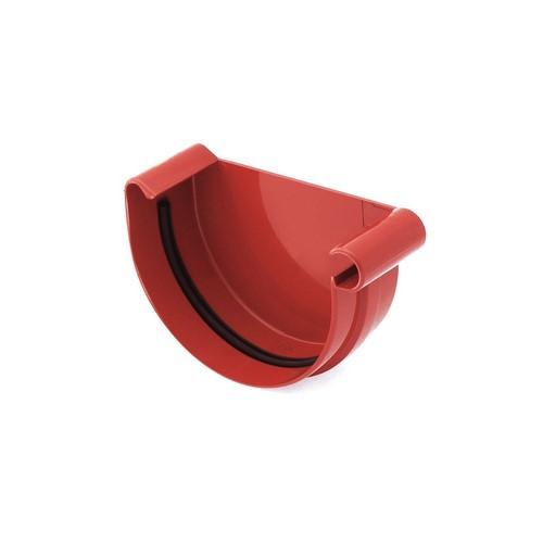 Заглушка ринви права BRYZA червона 125 мм