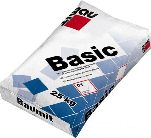 Клей Бауміт (Baumit) для плитки Basic 25 кг