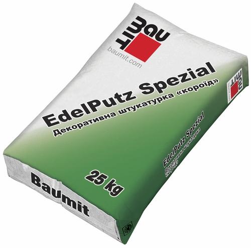 Штукатурка Бауміт (Baumit) мінеральна короїд 2,0 мм EdelPutz 25 кг