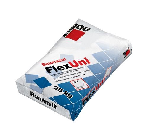Клей Бауміт (Baumit) для плитки універсальний FlexUni  25 кг