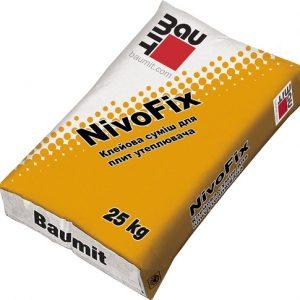 Клей Бауміт (Baumit) для утеплювача морозостійкий NivoFix 25 кг