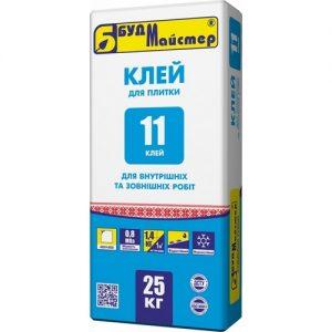 Клей БудМайстер КЛЕЙ-11 25 кг