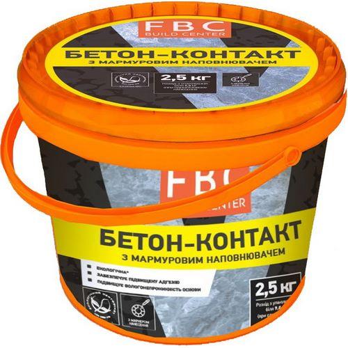 Пластифікатор FBC бетон-контакт 2,5 кг