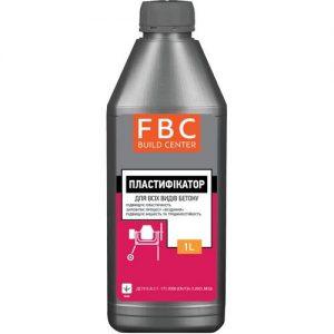 Пластифікатор FBC для бетону 10 л