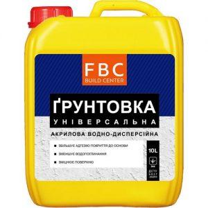 Грунтовка FBC універсальна 10 л