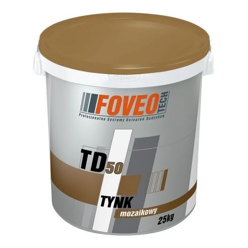 Штукатурка Фовео (Foveo) мармурова мозаїчна TD50 MD25  25 кг.