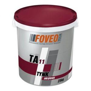 Штукатурка Фовео (Foveo) акрилова TA11 баранець 2,0 мм 25 кг