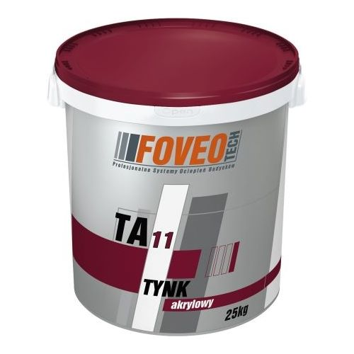 Штукатурка Фовео (Foveo) акрилова TA11 короїд 2,0 мм 25 кг