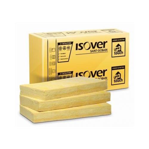 Мінеральна вата Ізовер (Isover) Штукатурний фасад 100/600/1200 мм (2,88 м.кв.)