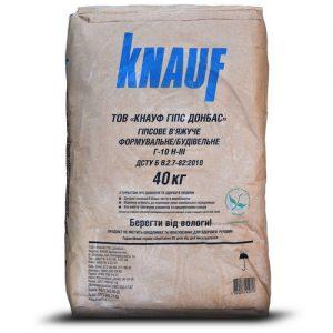 Гіпс Кнауф (Knauf) Г-10 40 кг