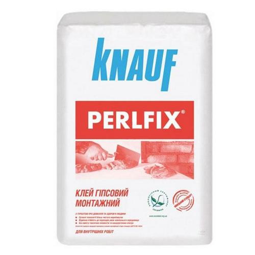 Клей Кнауф (Knauf) для гіпсокартону перлфікс 30 кг