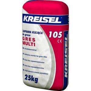 Клей  Крайзель (Kreisel) 105 для керамограніта Gres-Multi 25 кг