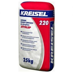 Суміш Крайзель (Kreisel) 220 для армування пінополістирольних плит 25 кг