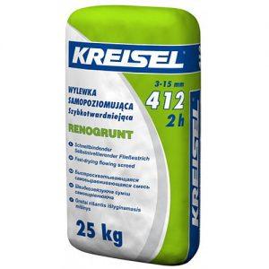 Стяжка Крайзель (Kreisel) 412 для підлоги самовирівнювальна 3-15 мм 25 кг