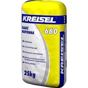 Шпаклівка Крайзель (Kreisel) 660 вапняна STUK 25 кг