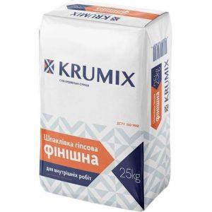 Шпаклівка Крумікс (Krumix) фінішна 25 кг