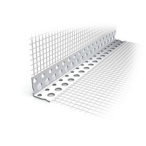 Кутник фасадний пластмасовий  з сіткою 2,5 м