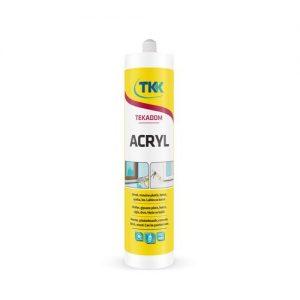 Герметик ТКК Tecadom Acryl white акриловий білий 300 мл