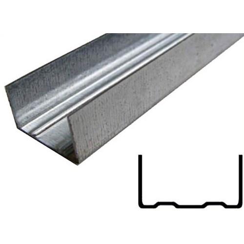 Профіль UW –  75 напр. 4м 0,6 мм Кнауф