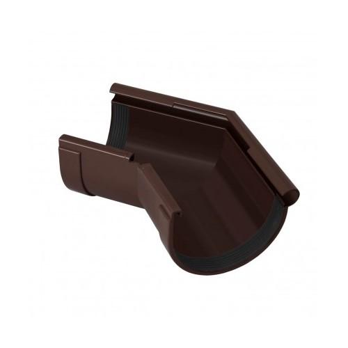 Кут зовнішній 135 RainWay коричневий 130 мм