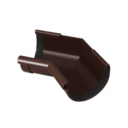 Кут внутрішній 135 RainWay коричневий 130 мм